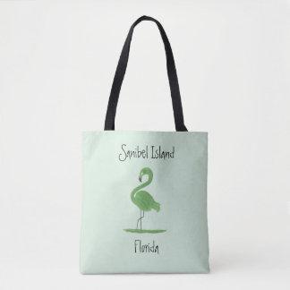 Green Flamingo Fine Art - Sanibel Island Florida Tote Bag