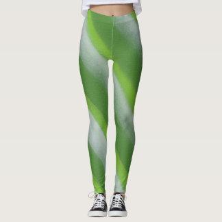 Green flash Leggings