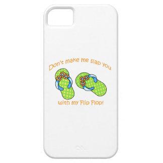 Green Flip Flops iPhone 5 Case