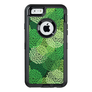 Green floral pattern OtterBox iPhone 6/6s case