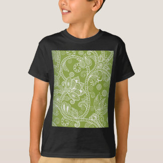 green floral tshirt
