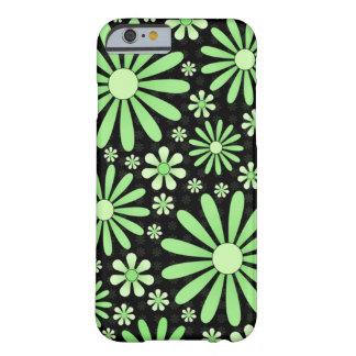 Green Flower Power Phone Case