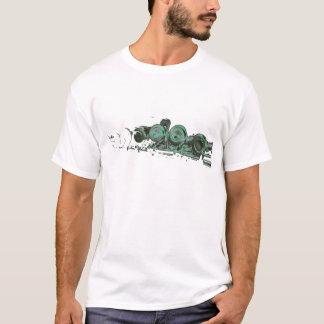 GREEN flute T-Shirt