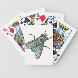 green fly bicycle playing cards
