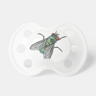 green fly - imitation of embroidery dummy