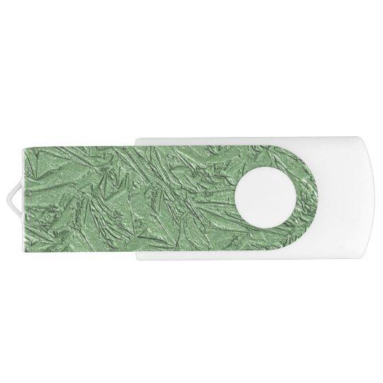 Green Foil Design USB Flash Drive