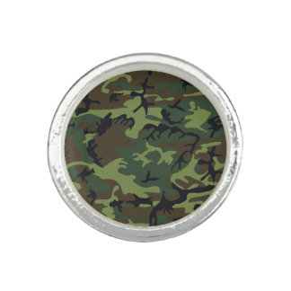 Green Forest Military Camouflage Pattern