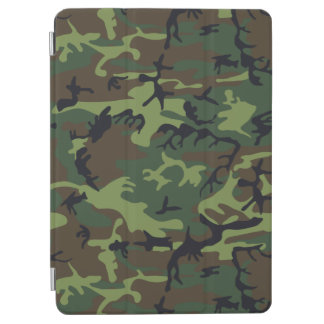 Green Forest Military Camouflage Pattern iPad Air Cover