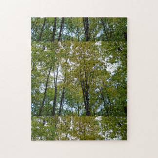 green forest puzzle