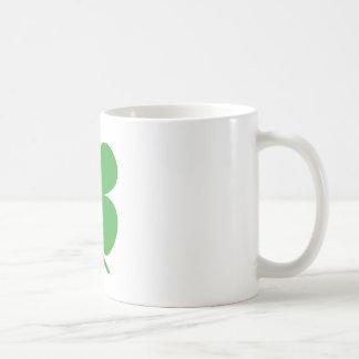 Green Four Leaf Clover Mug