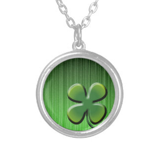 Green Four Leaf Clover Jewelry