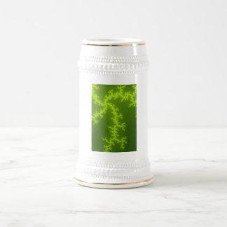 Green Fractal Mug