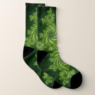 green fractal pattern 1
