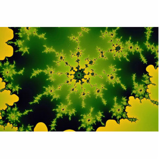 Green fractal cut outs