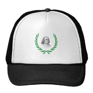 green franklin cap