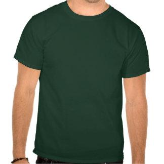 Green French Bulldog Umbrella Fun Shirt