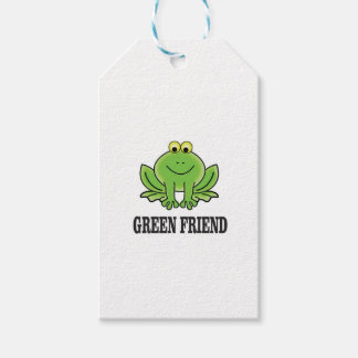 green friend gift tags