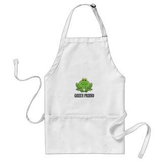 green friend standard apron