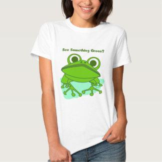 Green Frog 2 Tee Shirts