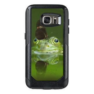 Green Frog and Butterfly OtterBox Samsung Galaxy S7 Case