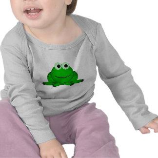 Green Frog Baby-Toddler T Shirt
