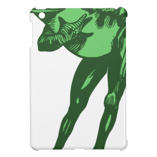 Green Frog Bowing Cover For The iPad Mini