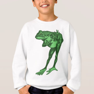Green Frog Bowing Sweatshirt