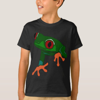 Green Frog Cartoon T-Shirt