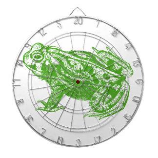 Green Frog Dartboard
