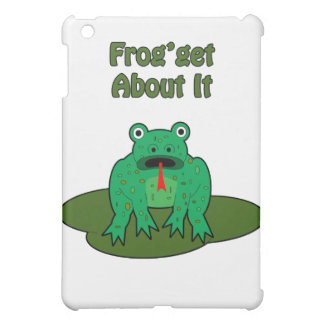 Green Frog - Frog Get About It iPad Mini Covers