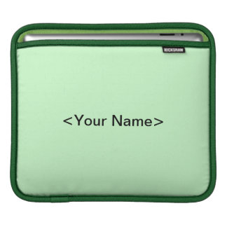 Green Frog - Frog Get About It iPad Sleeve