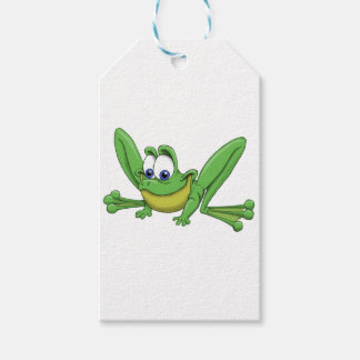 GREEN FROG GIFT TAGS