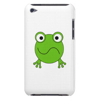Green Frog. Looking confused. iPod Case-Mate Cases