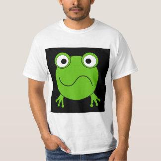 Green Frog. Looking confused. Tshirt