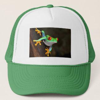 Green Frog Nature Wildlife Trucker Hat