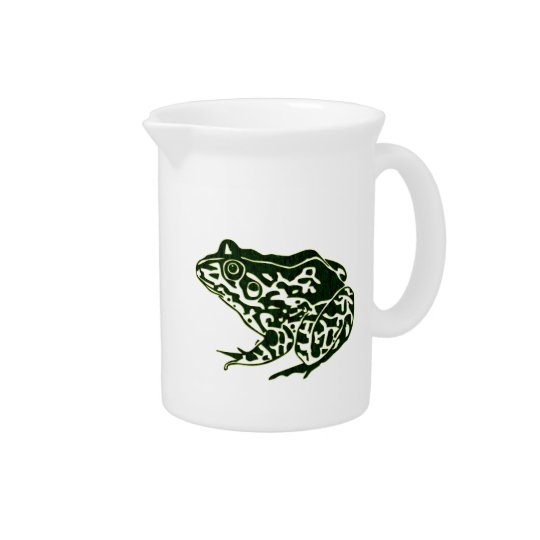 Green Frog Pitcher