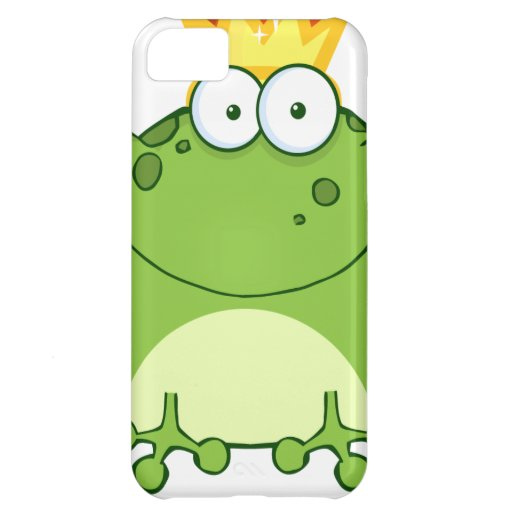 Green Frog Prince Cartoon Character iPhone 5C Covers