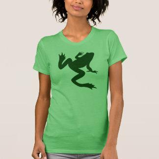 Green Frog Silhouette T-shirt