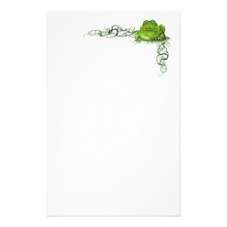 Green Frog Stationary Customised Stationery
