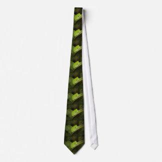 Green Frog Tie