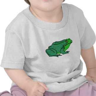 Green Frog T-shirts