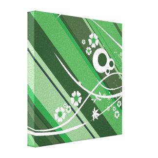 Green Fun Canvas Prints