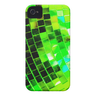 Green Funky Disco Ball iPhone 4 Covers