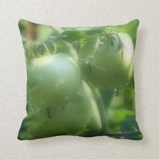Green Garden Tomatoes Nature American MoJo Pillow