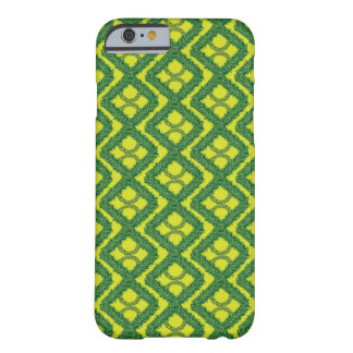 Green Garland Squares Barely There iPhone 6 Case