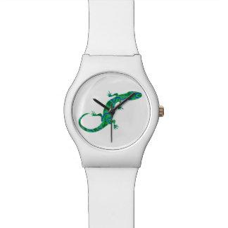 Green Gecko Watch