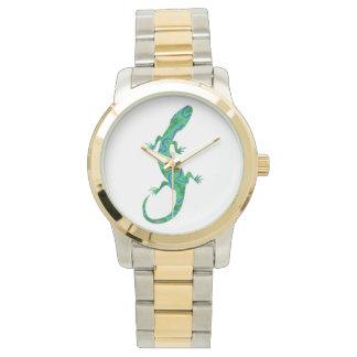 Green Gecko Wristwatch