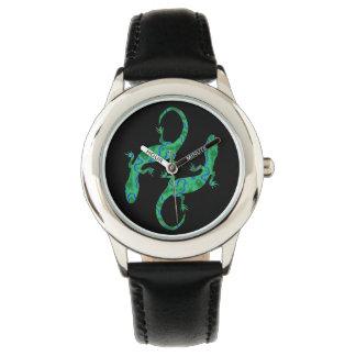 Green Gecko Wristwatches