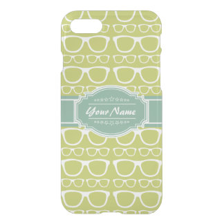 Green Geek Glasses Personalized iPhone 7 Case