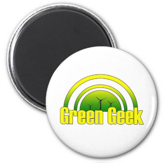 Green Geek - Magnet